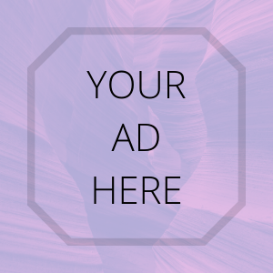 "Thin text reads ""your ad here"" on a faded violet background - this advertises banner space for companies to purchase on this website."